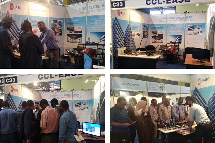 CCL-EASE Stand at the Addis Build Exhibition 2018