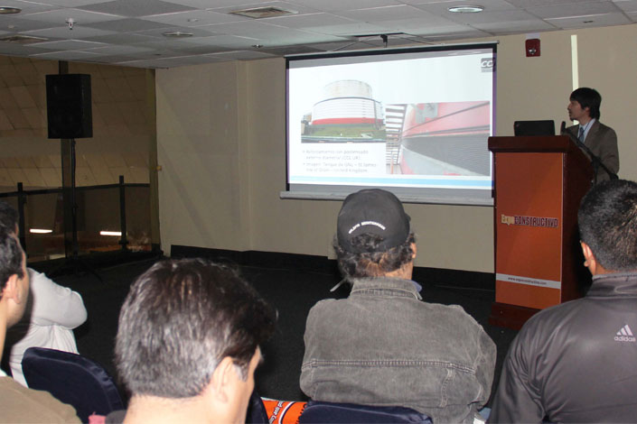 CCL technical seminar at the Expoconstructivo exhibition in Peru.