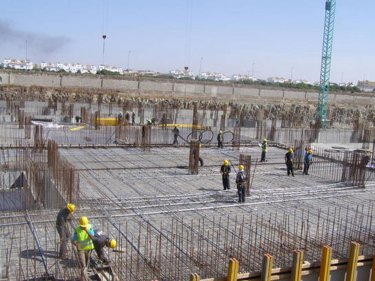 Morocco Mall_post tensioned concrete_post-tensioned slabs_Africa
