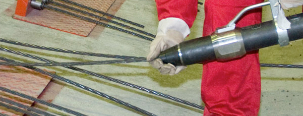 Prestressing systems_equipment_Spiroll_stressing jacks